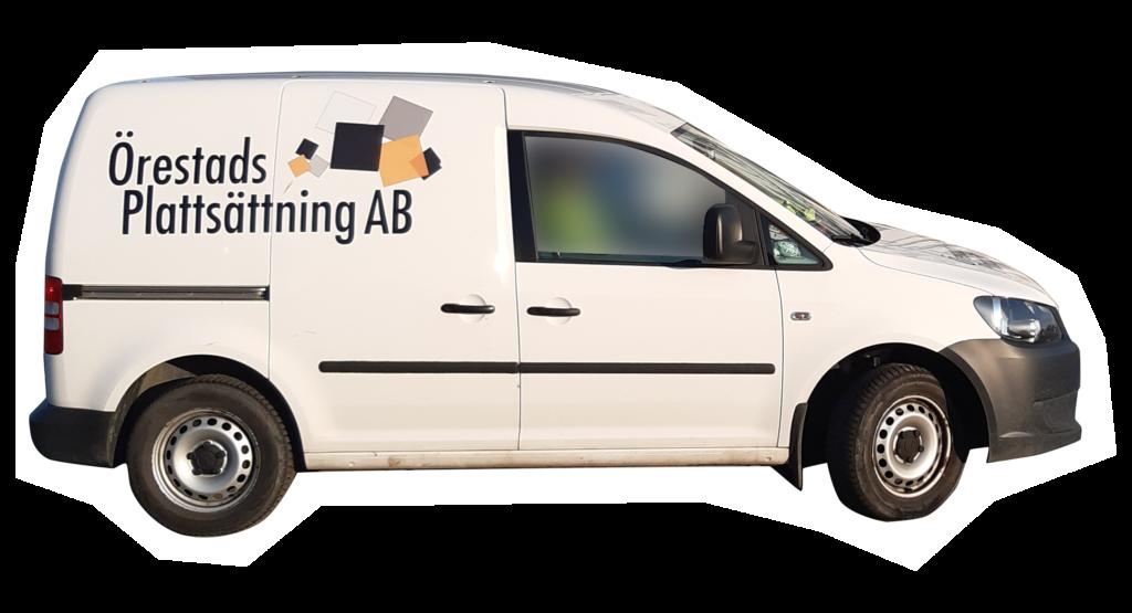 Örestads Plattsättning – bilen